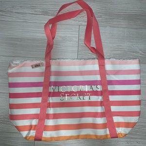 Victoria's Secret Striped Tote bag NWT